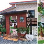 """""""สวนน้อยแสนสำราญ"""" เนรมิตหน้าบ้านให้เป็นพื้นที่พักผ่อน ลงตัวทุกการจัดวาง สวยงามตั้งแต่นอกรั้ว"""