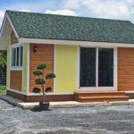 บ้านพักขนาดเล็กสไตล์รีสอร์ท ดีไซน์น่ารักในขนาดกะทัดรัด ราคา 348,000 บาท