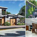 บ้านสองชั้นสไตล์ร่วมสมัย ผสานกลิ่นอายแห่งโลกตะวันออกด้วยสวนเซนญี่ปุ่น อัดแน่นความอบอุ่นทุกอณูพื้นที่ภายในบ้าน