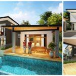 บ้านสองชั้นสไตล์โมเดิร์น 4 ห้องนอน 5 ห้องน้ำ พื้นที่พักผ่อนสุดครบครัน ออกแบบเพื่อครอบครัวใหญ่