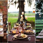 """23 ไอเดีย """"โต๊ะทานอาหารนอกบ้าน"""" สร้างพื้นที่สำหรับมื้อค่ำแสนอบอุ่นสำหรับวันรวมญาติ"""