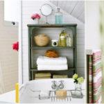 """25 ไอเดีย """"เก็บของในห้องน้ำ"""" ประหยัดพื้นที่ด้วยการออกแบบและจัดวางอย่างมีสไตล์"""