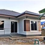 บ้านทรงปั้นหยา ตกแต่งโทนสีเทา ปลอดโปร่งทุกพื้นที่ใช้สอย 3 ห้องนอน 1 ห้องน้ำ