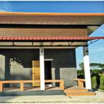 บ้านโมเดิร์นชั้นเดียว ตกแต่งด้วยงานปูนเปลือย 2 ห้องนอน 1 ห้องน้ำ พื้นที่ใช้สอย 88 ตารางเมตร