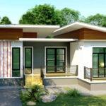 แบบบ้านสไตล์โมเดิร์น ตกแต่งในโทนสีขาวสบายตา ขนาด 3 ห้องนอน 2 ห้องน้ำ