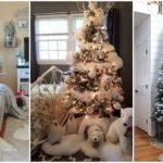 """21 ไอเดียแต่งบ้านในรูปแบบ """"เทศกาลคริสต์มาสสีขาว"""" ต้อนรับลมหนาวด้วยบรรยากาศแบบเมืองหิมะ"""