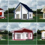 """18 ไอเดีย """"แบบบ้านขนาดเล็ก"""" ดีไซน์สวยมีเอกลักษณ์ งบก่อสร้างสุดประหยัด เหมาะสำหรับอยู่อาศัยไม่เกิน 2 คน"""