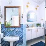 """31 ไอเดีย """"กระเบื้องห้องน้ำ""""  สำหรับตกแต่งทั้งพื้นและผนัง สร้างบรรยากาศการอาบน้ำที่โดดเด่นไม่ซ้ำใคร"""