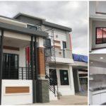 บ้านสองชั้นพร้อมระเบียงหน้าบ้าน ดีไซน์สไตล์โมเดิร์นทรอปิคอล3 ห้องนอน 2 ห้องน้ำ งบก่อสร้าง 2.45 ล้านบาท