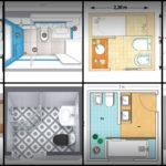 """22 ไอเดีย """"แปลนห้องน้ำขนาดเล็ก""""ฟังก์ชันลงตัว สัดส่วนชัดเจน จัดสรรพื้นที่อย่างคุ้มค่าและครบครัน"""