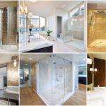 """30 ไอเดีย """"ห้องอาบน้ำกระจก"""" ขยายมุมมองให้ดูกว้างขึ้น อาบน้ำในพื้นที่แคบแบบไม่อึดอัด"""