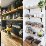 """17 ไอเดีย """"มุมเก็บของในห้องครัว"""" สวยงาม เป็นระเบียบ ใช้พื้นที่คุ้มค่าทุกตารางนิ้ว"""