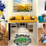"""29 ไอเดีย """"สติกเกอร์ติดผนังลายสามมิติ (3D)"""" ช่วยให้บ้านของคุณสวยงามแปลกตาไม่ซ้ำใคร"""