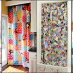 """35 ไอเดีย DIY """"ผ้าม่านจากเศษผ้า"""" สร้างสรรค์งานศิลป์จากของเหลือใช้ สู่ของแต่งบ้านสุดเก๋"""