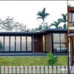 บ้านสำเร็จรูป ออกแบบสไตล์โมเดิร์น ขนาด  2 ห้องนอน 2 ห้องน้ำ พร้อมเฉลียงกว้าง งบก่อสร้าง 1.8 ล้านบาท