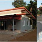 บ้านชั้นเดียวราคาประหยัด ก่อสร้างแบบพอเพียงและเรียบง่าย ฝันที่ไม่ไกลเกินเอื้อมของคนอยากมีบ้าน