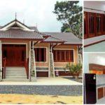 แบบบ้านชั้นเดียวทรงไทยประยุกต์ โดดเด่นด้วยงานไม้สุดคลาสสิค 3 ห้องนอน 2 ห้องน้ำ พื้นที่ใช้สอย 130 ตารางเมตร