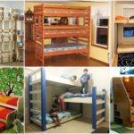 """25 ไอเดีย """"ห้องนอนสามเตียง"""" จัดสรรพื้นที่ให้ครอบครัวลูกเยอะได้อย่างลงตัว"""