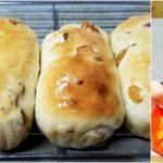 """แบ่งปันสูตร """"ขนมปังลูกเกดสีทองเนื้อนุ่ม"""" ของว่างแสนอร่อยทำทานเองก็อร่อย ทำขายก็เยี่ยม"""