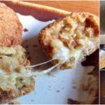"""ชวนทำ """"โคร็อกเกะรสแกงกะหรี่ไส้ชีส"""" ทานคู่กับข้าวญี่ปุ่นราดซอส อร่อยพุงกาง!"""