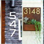 """50 ไอเดีย """"ป้ายเลขที่บ้าน"""" ตกแต่งหน้าตาของบ้านด้วยเอกลักษ์เฉพาะตัว สร้างความประทับใจแรกพบ"""