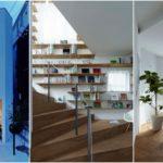 บ้านทรงสูงสไตล์มินิมอล สร้างสรรค์ไม่เหมือนใคร ด้วยบันไดวนกลางตัวบ้านสุดเจ๋ง