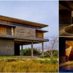บ้านสองชั้นสไตล์โมเดิร์นลอฟท์ ดีไซน์โปร่งโล่งกว้างขวาง ไอเดียเพื่อการตกแต่งบ้านในบรรยากาศแบบสวยดิบ