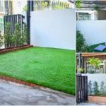 """DIY """"สวนหน้าบ้านทาวน์โฮม"""" เนรมิตลานจอดรถให้กลายเป็นมุมนั่งเล่น เติมความสุขด้วยพื้นที่สีเขียว"""