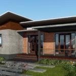 แบบบ้านชั้นเดียวสไตล์โมเดิร์นลอฟท์ 3 ห้องนอน 2 ห้องน้ำ โดดเด่นด้วยความสวยงามจากผนังปูนเปลือยและอิฐโชว์แนว