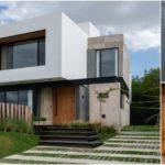 Cientocinco House บ้านโมเดิร์นกับเส้นสายเรขาคณิตของงานเหล็ก คอนกรีต และงานไม้ เพิ่มสเน่ห์ด้วยแลนด์สเคปสุดเนี้ยบ
