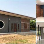 บ้านทรงโมเดิร์นหลังเล็กกะทัดรัด ตกแต่งภายในกลิ่นอายลอฟท์ 1 ห้องนอน 1 ห้องน้ำ พื้นที่ 96 ตารางเมตร