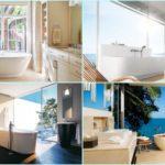 60 ไอเดีย ออกแบบห้องอาบน้ำด้วยบรรยากาศที่แสนสบาย และผ่อนคลาย