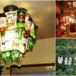 """15 ไอเดีย DIY ของแต่งบ้านจาก """"ขวดเบียร์"""" เปลี่ยนขยะไร้ค่าให้เกิดประโยชน์ สำหรับสิงห์นักดื่มโดยเฉพาะ"""