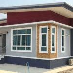 บ้านชั้นเดียวสไตล์โมเดิร์น ตกแต่งด้วยสีสันหลากหลายแต่ลงตัว 3 ห้องนอน 3 ห้องน้ำ พื้นที่ใช้สอย 220 ตร.ม.