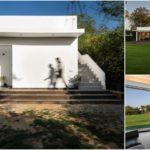 บ้านพักตากอากาศสีขาว ภายในเน้นการตกแต่งที่หรูหรา รองรับการจัดกิจกรรมและงานเลี้ยง