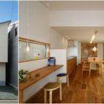 บ้านทรงทาวน์เฮาส์จากญี่ปุ่น สไตล์มินิมอล ตกแต่งอบอุ่นเรียบง่ายด้วยงานไม้และโทนสีขาว
