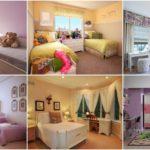 """69 ไอเดีย """"ห้องนอนสีหวาน"""" เน้นความน่ารักอบอุ่น บนสีสันแสนสดใส เหมาะสำหรับห้องนอนเด็กผู้หญิง"""