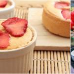 """ชวนทำเมนู """"เค้กสตรอว์เบอร์รีโยเกิร์ต"""" เนื้อนุ่มๆ เปรี้ยวหวานด้วยรสผลไม้และโยเกิร์ต ทำเองได้ไม่ยาก"""