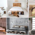 """21 ไอเดีย """"เตียงนอนจากพาเลทไม้"""" เพิ่มเสน่ห์แบบชิคๆ ให้กับห้องนอน เก๋ได้ไม่ซ้ำใคร"""