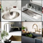 """25 ไอเดีย """"เคาน์เตอร์อ่างล้างหน้า"""" ทำความสะอาดง่าย ใช้งานสะดวก เพิ่มความสวยงามให้กับห้องครัวและห้องน้ำ"""