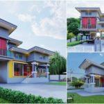 แบบบ้านชั้นครึ่งสไตล์โมเดิร์น 4 ห้องนอน 3 ห้องน้ำ พร้อมสระว่ายน้ำส่วนตัว บ้านเพื่อคนรักกิจกรรมกลางแจ้ง