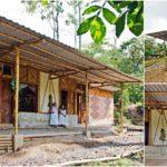 บ้านไม้ไผ่สไตล์ธรรมชาติ สร้างจากวัสดุท้องถิ่น ผลงานแบบบ้านเพื่อการแก้ปัญหาที่อยู่อาศัยในชุมชน