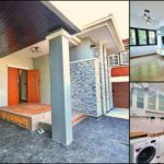 บ้านชั้นเดียวสไตล์คอนเทมโพรารี ขนาดกะทัดรัด 2 ห้องนอน 2 ห้องน้ำ พื้นที่ใช้สอย 110 ตร.ม.