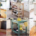 """25 ไอเดีย """"เคาน์เตอร์ครัวเคลื่อนที่"""" พร้อมย้ายได้สะดวก ช่วยประหยัดพื้นที่ในครัวขนาดเล็ก"""