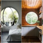 """31 ดีไซน์ """"หน้าต่างทรงกลม"""" เติมจุดโฟกัสให้กับห้อง เปลี่ยนมุมมองของบ้านแบบเดิมๆ ให้โดดเด่นไม่ซ้ำใคร"""