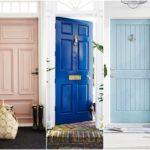 """40 ไอเดีย """"แต่งแต้มสีสันให้ประตู"""" เพิ่มเสน่ห์แบบคลาสสิคและความสดใสให้กับทางเข้าบ้าน"""
