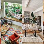 """50 ไอเดีย """"ห้องนั่งเล่นสไตล์โบฮีเมียน"""" เติมความอบอุ่นและความสดใสกับให้พื้นที่ของครอบครัว"""