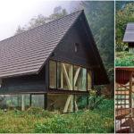 House in Balsthalบ้านไม้ทรงจั่วกลางธรรมชาติ เชื่อมต่อบริบทภายในและภายนอกด้วยผนังกระจกบานใหญ่