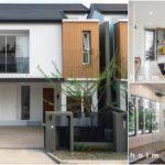 บ้านแฝดสองชั้นสไตล์มินิมอล บรรยากาศเรียบง่ายและอบอุ่น