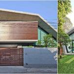 บ้านโมเดิร์นกลางสวน ดีไซน์รูปทรงเรขาคณิตเชื่อมต่อพื้นที่ชีวิตกับจังหวะของธรรมชาติ